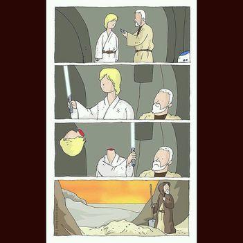 Luke, Te ügyetlen!