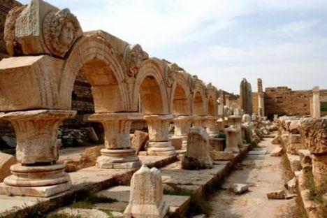 ókori emlékek Líbiában
