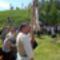 csángó szentmise a Kontunáci kápolnánál
