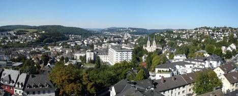 Siegen_Aussicht_Oberes_Schloss_Schlosspark