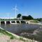 Lajta folyó, a mosonmagyaróvári Lajta zsilip alvíze, 2015. június 04.-én