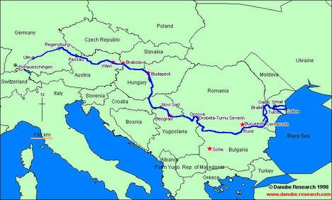 Duna térkép