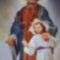 Szent József a kisded Jézussal