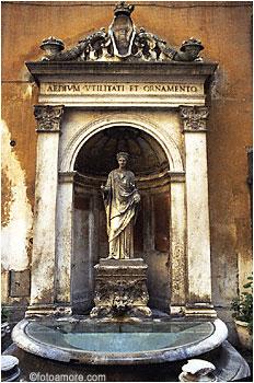 Fontana Ornamento-Roma-Lazio