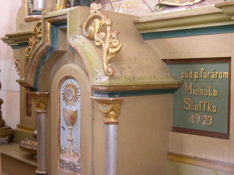 DÉNESFALVA oltár