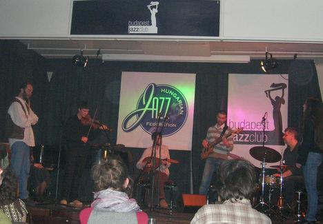 Fabatka a Magyar Jazz Ünnepén, Budapest Jazz Club 2009 márc. Vendég: Jeszenszky György jazzdobos