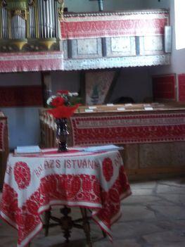 Fazsindelyes kalotaszegi református templom templom