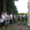A felújított Fájdalmas Szűzanya szobor megáldása 1