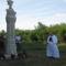 A felújított Fájdalmas Szűzanya szobor megáldása 4