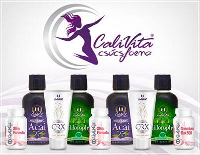 Calivita csúcsforma csomagok