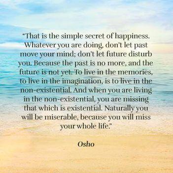 """""""Egyszerűen ez a titka a boldogságnak. Bármit is teszel, ne engedd..."""""""