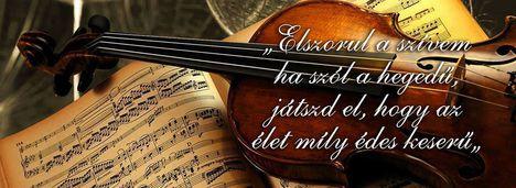 Elszorul a szívem, ha szól a hegedű