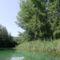 Kisbodak, a Sebes csatorna a hullámtéri vízpótlórendszerben 2015. augusztus 07.-én