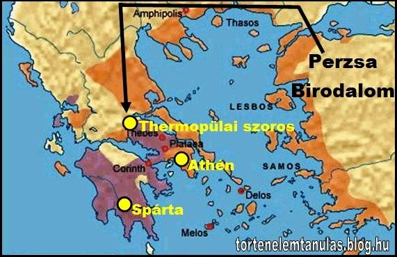ókori görögország térkép ÓKOR: Ókori Görögország 5 (kép) ókori görögország térkép