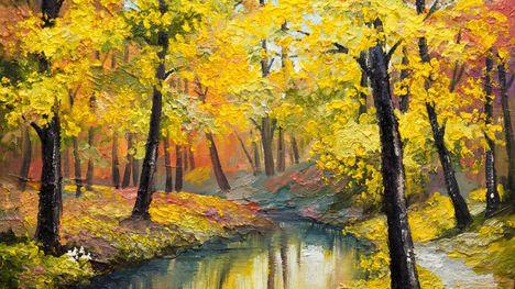 Őszi erdő-123