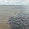 Rio Solimoes és Rio Negro folyók..., a vizek találkozása...  Innentől nevezik a folyamot Amazonasnak