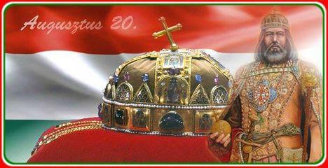 Dáma Lovag Erdős Anna : Szent István királyunk ünnepén