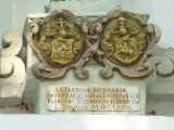 DÉRFÖLD felirat a Szűz Mária szobor talpazatán