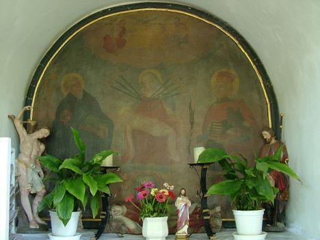 DÉRFÖLD Gyónó-kápolna oltár képe