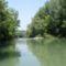 Dunasziget, Nyárasi átvágás a hullámtéri vízpótlórendszerben 2015. augusztus 07.-én