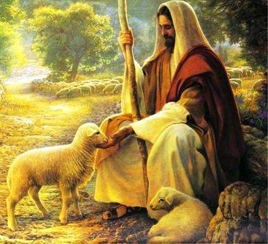 Jézus a jó pásztor