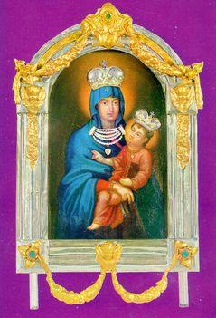 Pétervárad-Tekia Szűz Mária kép