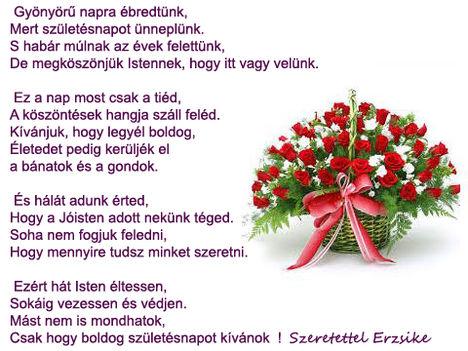 Rádiné Zsuzsikának  Isten gazdag áldását ,boldog  születésnapot  kivánok !