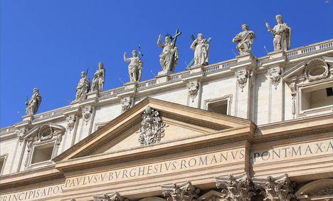 Szent Péter bazilika teteje1