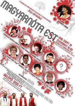 ŐSZI NÓTAGÁLA, a debreceni Magyarnóta Egyesület szervezésében