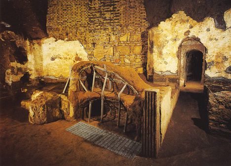 catacombs of Sts _ Marcellinus and Peter
