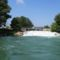 Duna folyam 1832,4 fkm, a Denkpáli megcsapoló műtárgy alvizi oldalán, 2015. augusztus 04.-én