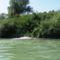Duna folyam 1836, 7 fkm jobb part, Csurgás a hullámtéri vízpótlórendszer felöl, 2015. augusztus 04.-én