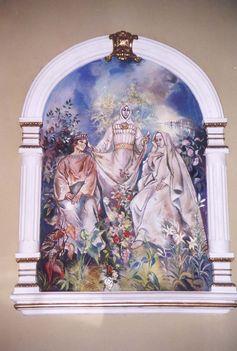 TÖRÖKTOPOLYA  Szent Erzsébet Boldog Gizella királyné és Szent Margit