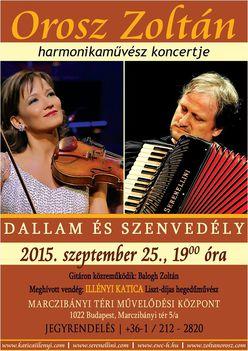 Orosz Zoltán harmonikamúvész koncertje