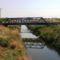 Lajta Balparti csatorna a Hegyeshalom-Bezenye közötti vasút vonalnál, 2015. augusztus 10.-én