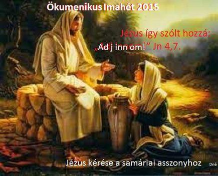 2015 Január 18-25:Ökumenikus imahét
