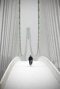 A biciklizés télen is egészséges