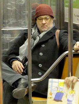 Tom Hanks metrózik