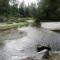 Lajta folyó eredete, a Pitten és a Schwarza találkozásánál, Ausztria, 2015. szeptember 30.-án 4