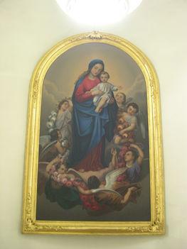 LAJTASZENTMIKLÓS - kép a Szűz Anyáról