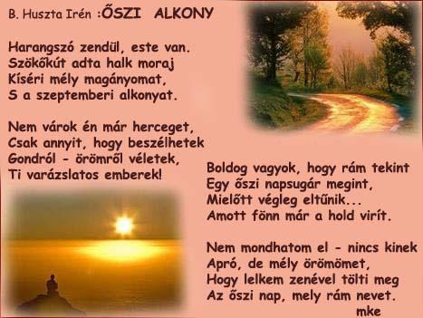 ŐSZI  ALKONY