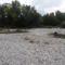Schwarza folyó torkolati szakasza Haderswörthnél Ausztriában, 2015. szeptember 30.-án