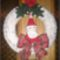 karácsonyi ajtó kopogtató