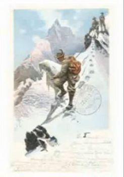 Alpok képeslap