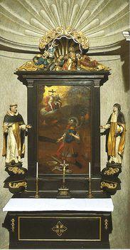 LÉKA Szent Donát oltár
