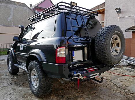 Y61 rear