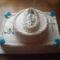 Keresztelőre emeletes torta