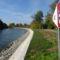 Mosoni-Duna, Halászi község belterületén 2015. október 27.-én