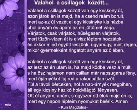 VALAHOL A CSILLAGOK KÖZÖTT