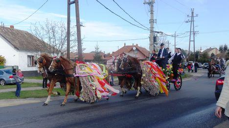 Csingis lovak felvonulása a Halászi Szent Márton búcsú napján, 2015. november 08.-án 3